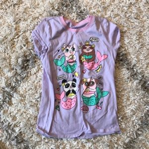 The children's place girls size 7/8 T-shirt